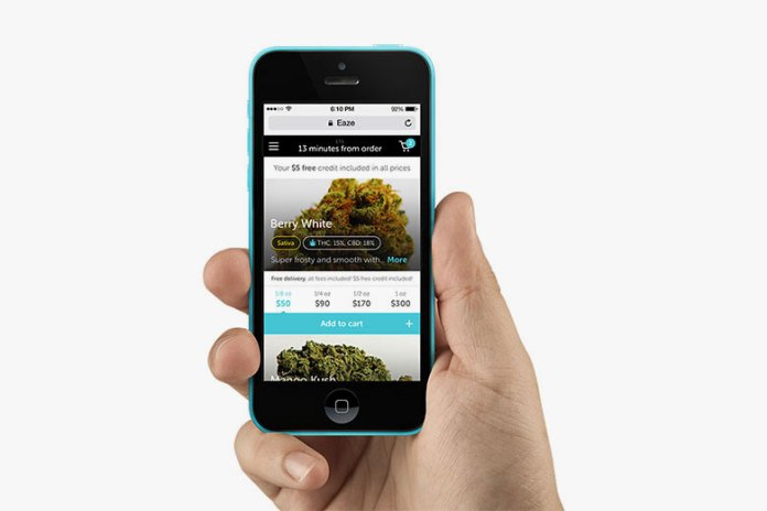 """Uber for Weed"" Startup Eaze Raises $10 Million USD in Funding"