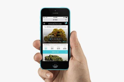 """Uber for Weed"" Startup Eaze Raises $10 Million USD in Funding"