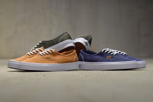 "Vans California 2015 Spring/Summer Authentic CA ""Washed Herringbone"" Pack"