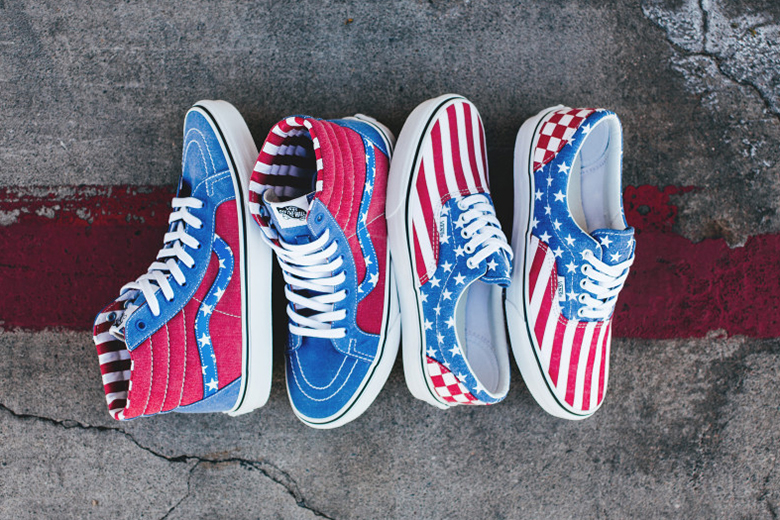"Vans 2015 Spring/Summer ""Stars and Stripes"" Pack"