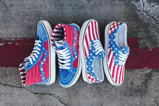"Vans 2015 Spring/Summer ""Stars and Stripes"" Pack"