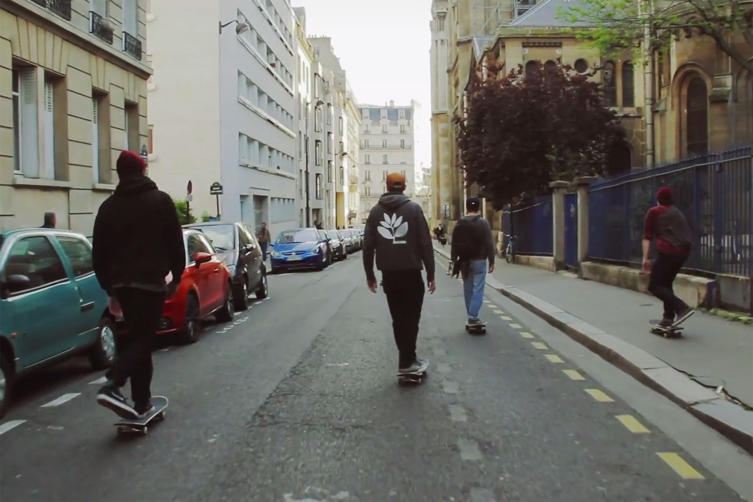 """Vicious Circle"" A Skatebording Film Shot in Paris by Olivier Fanchon"