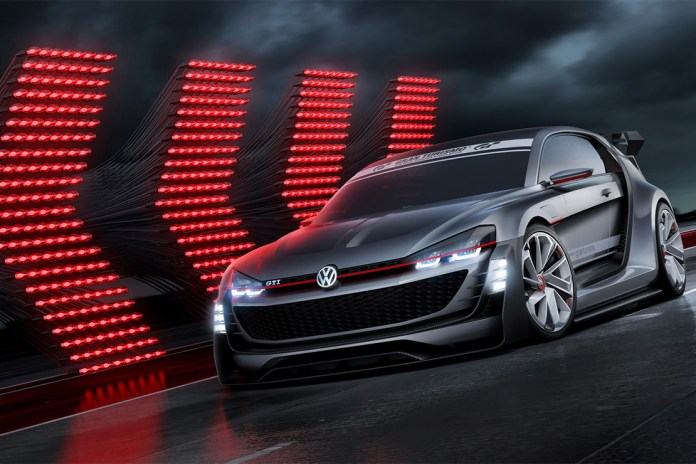Volkswagen Unveils the GTI Supersport Vision Gran Turismo