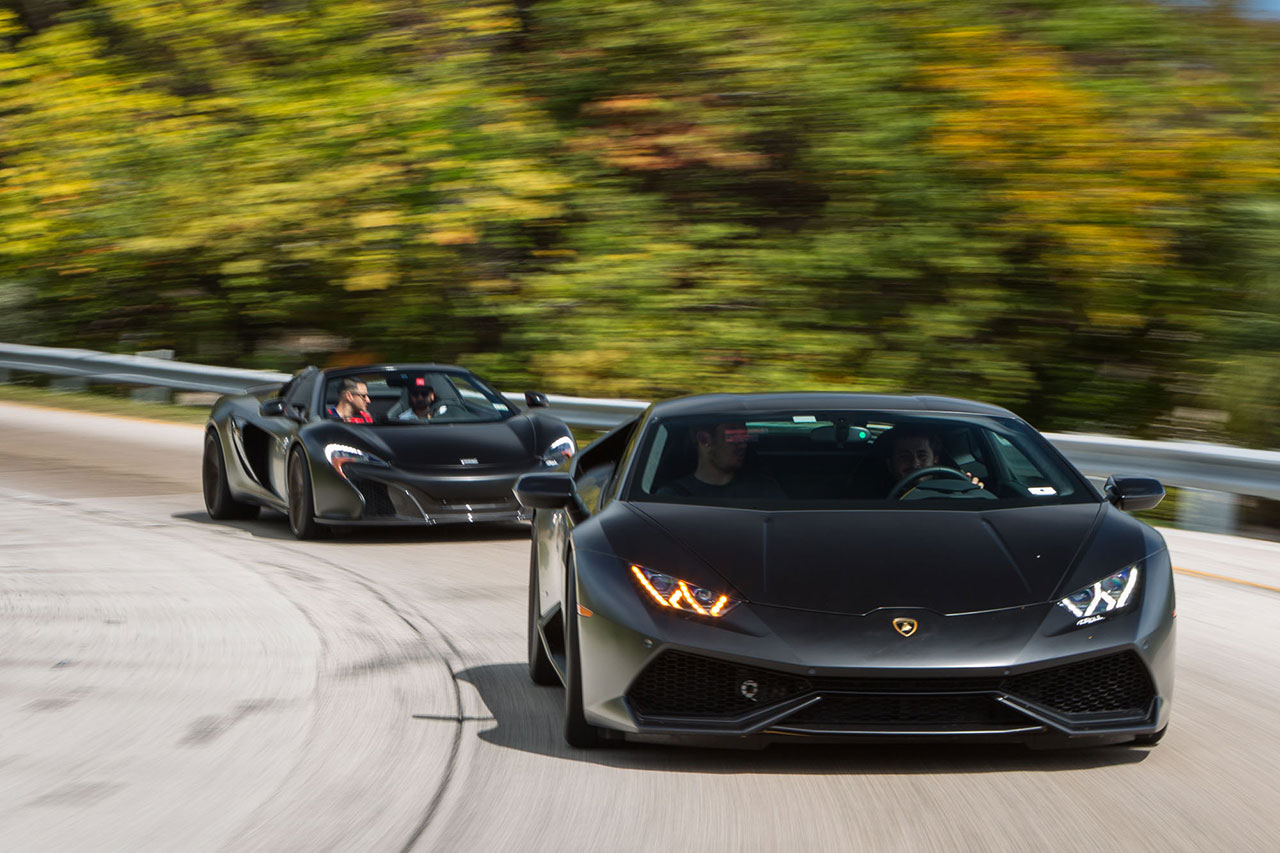 Vossen's New Precision Series Wheels Equipped on a Lamborghini Huracán and a McLaren 650S Spider