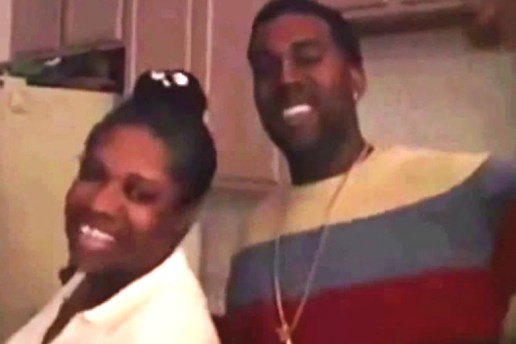 Watch a Young Kanye West Rapping with His Mother