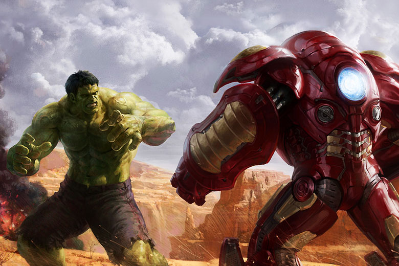 Watch Iron Man and Hulk Fight in New Avengers: Age of Ultron Clip