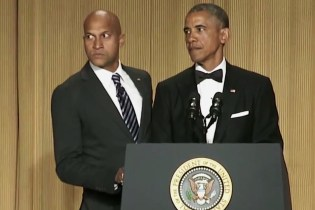Watch Keegan Michael Key of 'Key and Peele' Perform a Real Skit With Barack Obama