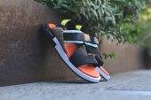 Y-3 2015 Spring/Summer Kaohe Sandal Black/Orange