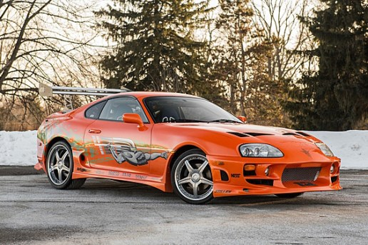 You Have the Chance to Own Paul Walker's 'The Fast and the Furious' Supra