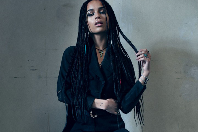 Zoe Kravitz by Zackery Michael for the 2015 May Issue of 'Flaunt'
