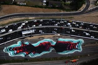 1010 Paints Optical Illusion in Paris Streets
