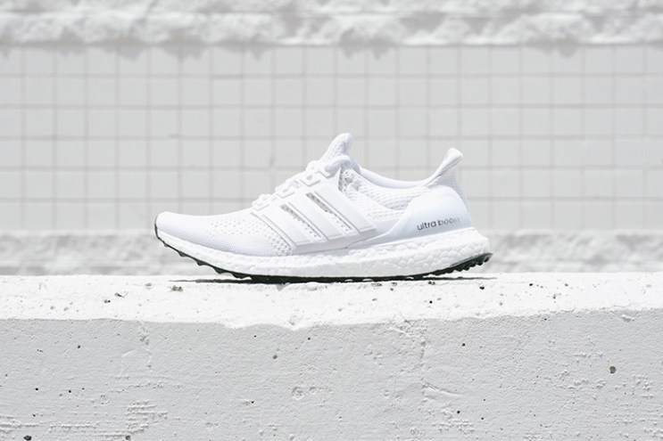 A Closer Look at the adidas Ultra Boost White/White
