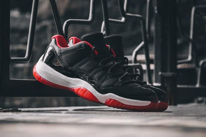 "A Closer Look at the Air Jordan 11 Retro Low ""True Red"""