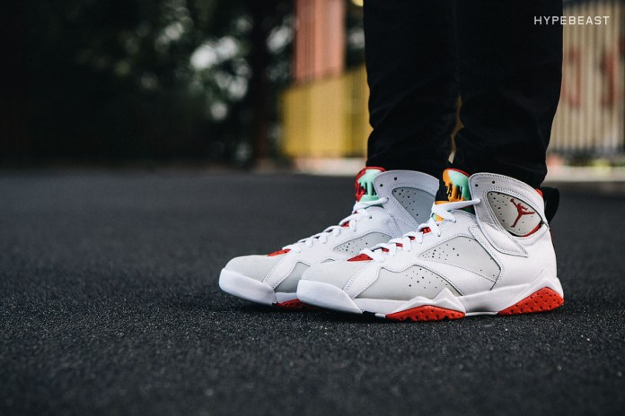 "A Closer Look at the Air Jordan 7 Retro ""Hare"""