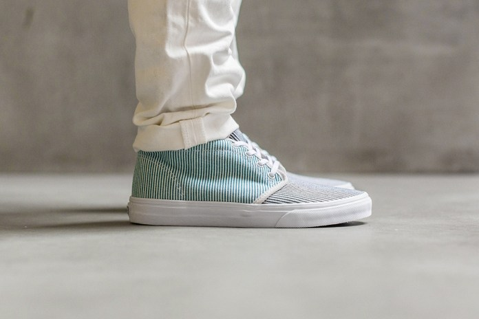 "A Closer Look at the Carhartt WIP x Vans 2015 Spring/Summer ""Hickory Stripe"" Collection"