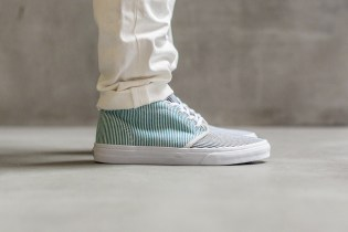 """A Closer Look at the Carhartt WIP x Vans 2015 Spring/Summer """"Hickory Stripe"""" Collection"""