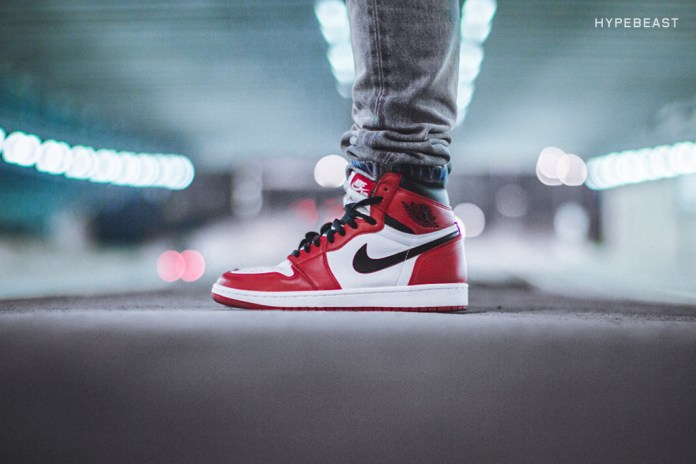 "A Closer Look at the Air Jordan 1 Retro High OG ""Chicago"""
