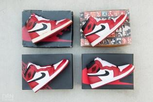 "A Detailed Comparison of Four Different Air Jordan 1 ""Chicago"" Renditions"