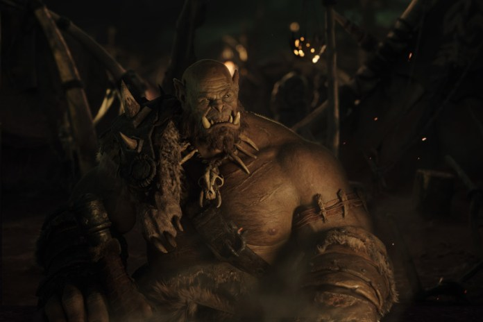 A First Look at Orgrim, the Star of the World of Warcraft Movie