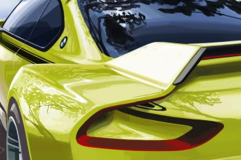 A First Look at the BMW 3.0 CSL Hommage Concept