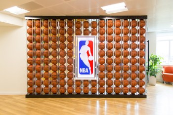A Look Inside the NBA Europe Headquarters in London