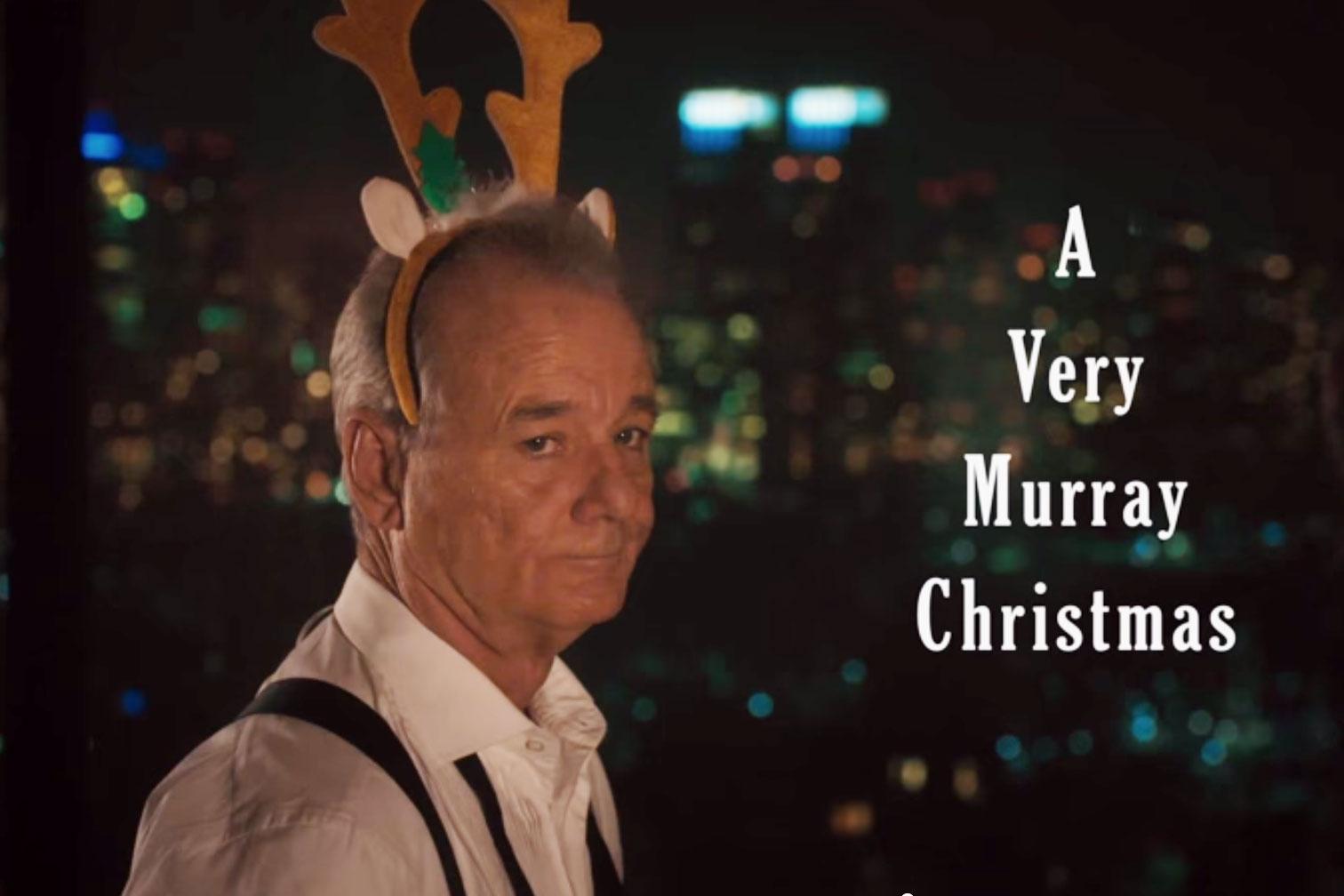 'A Very Murray Christmas' Teaser Trailer Starring Bill Murray