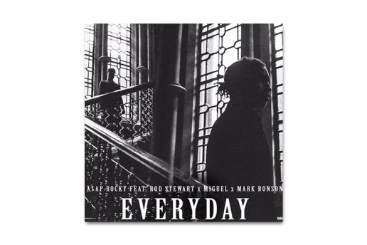 A$AP Rocky featuring Rod Stewart, Miguel and Mark Ronson - Everyday