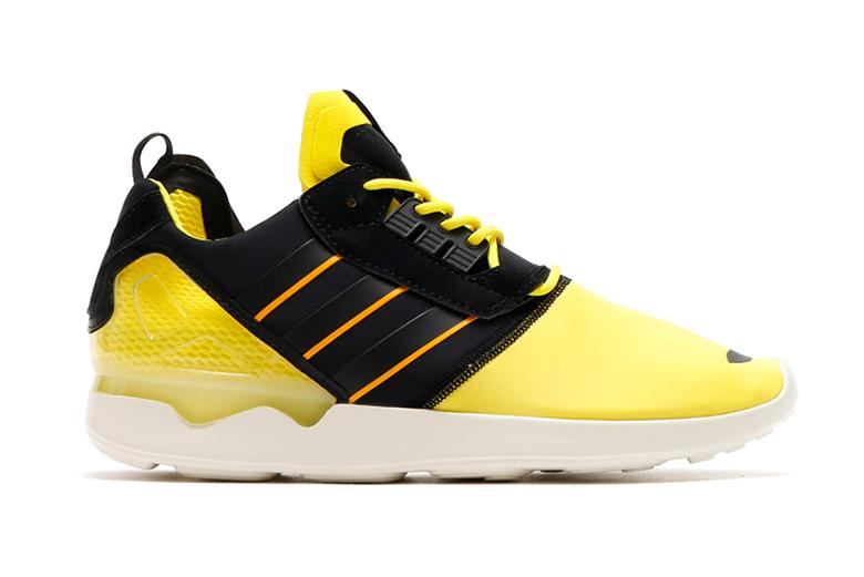 adidas Originals ZX 8000 Boost Bright Yellow/Core Black/Cream White