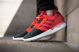 "adidas Originals ZX 8000 Boost ""Semi Solar Red"""