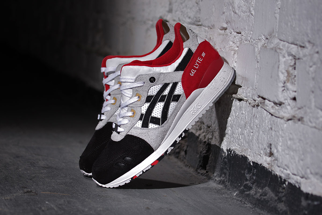 "Afew x ASICS GEL-Lyte III ""Black Koi"" 1-of-1"