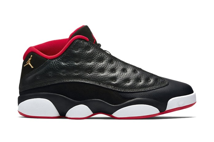 "Air Jordan 13 Retro Low ""Bred"""