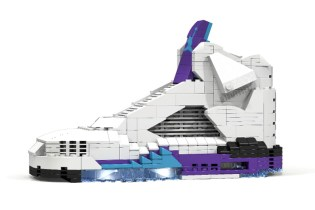 "Air Jordan V ""Grape"" Replica Made out of LEGO®"