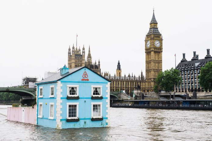Airbnb's Floating House on the River Thames