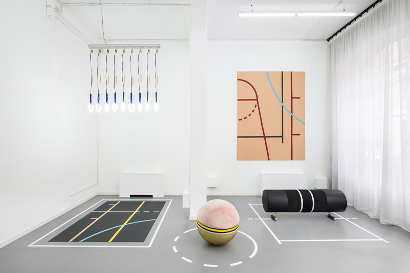 Alberto Biagetti and Laura Baldassari Reappropriate Gym Equipment to Create Contemporary Furniture
