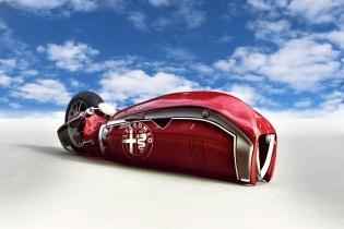 Alfa Romeo Spirito Motorcycle Concept by Mehmet Doruk Erdem