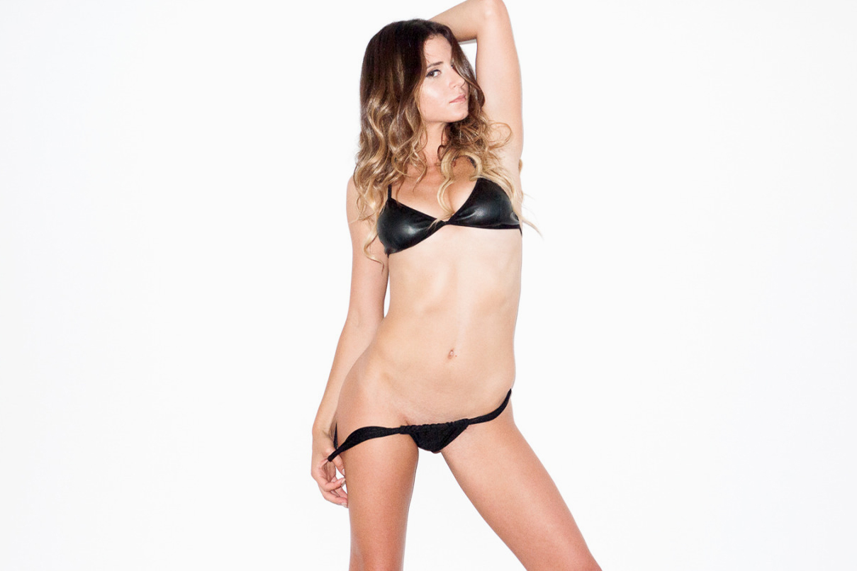 Anastasia Ashley Visits Terry Richardson's Studio