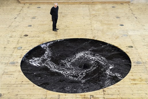 "Anish Kapoor ""Descension"" @ Galleria Continua"