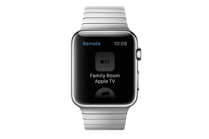 """Apple Readies """"TVKit"""" for the Apple Watch"""