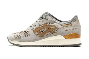 "ASICS GEL-Lyte III ""Laser Cut"" Light Grey"