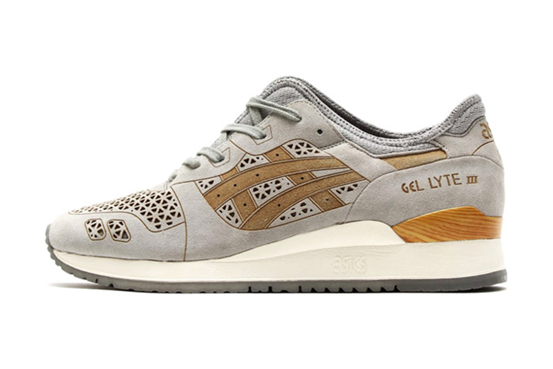 asics gel lyte iii laser cut tan