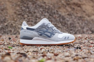 ASICS GEL-Lyte III Light Grey/Grey/Gum