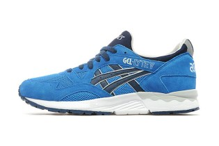 ASICS GEL-Lyte V Blue/Navy JD Sports Exclusive