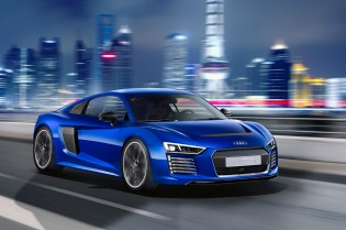 Audi Unveils the R8 E-Tron Piloted Driving Technical Concept Car