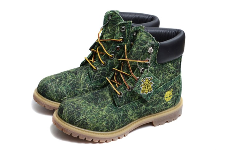 """Bee Line for Billionaire Boys Club x Timberland 6-Inch """"Printed Canvas"""" Pack"""