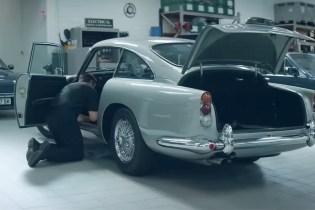 Behind the Scenes at the Aston Martin Works Restoration Garage