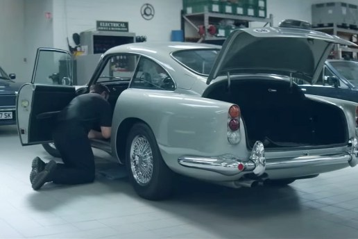 Behind the Scenes at the Aston Martin Works Restoration Garage