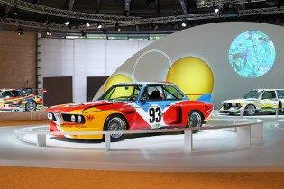 BMW Celebrates 40 Years of Its Art Car