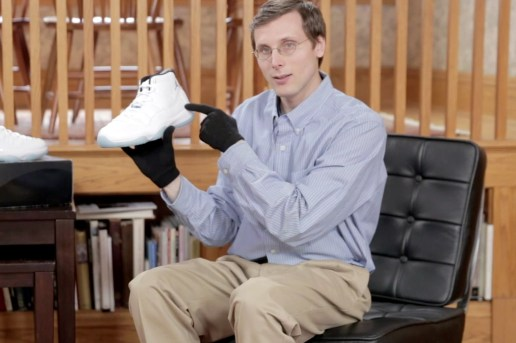 "Brad Hall Unboxes the Air Jordan 11 Retro ""Legend Blue"""