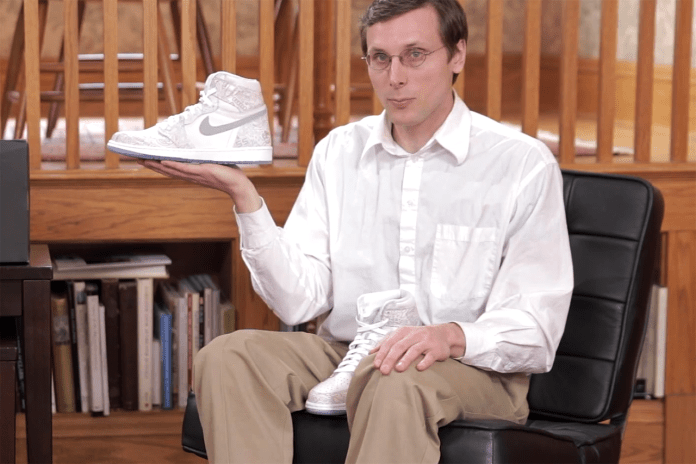 "Brad Hall Unboxes the Air Jordan 1 Retro High OG ""Laser"" in Another Hilarious Review"