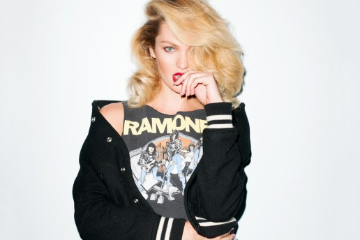 Candice Swanepoel Visits Terry Richardson's Studio